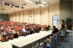 Aula v prostorách Právnické fakulty UPOL