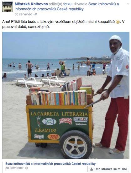 Čím menší knihovna, tím osobnější komunikaci si může dovolit.