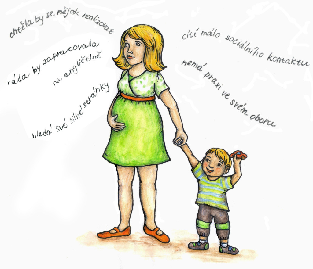 Maminka na mateřské - výstupy z rozhovoru